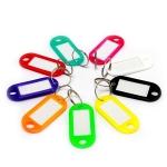 Пластиковые бирки для ключей