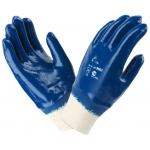 Перчатки нитриловые полный облив (манжет трикотажный)