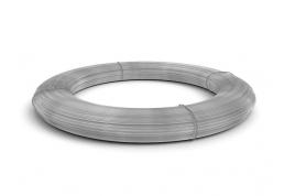 Проволока оцинкованная  для опломбирования, вязальная Ø 0,6мм, 0,8мм (1кг 300м)